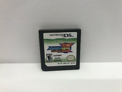 Mega Man Zero Collection (Nintendo DS, 2010) Authentic Tested Free Shipping
