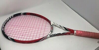 Used Wilson Steam 99s (Spin) Tennis Racquet Good