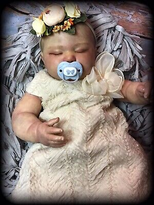 reborn baby dolls, June Asleep 7 Months, Only custom order