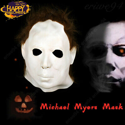 2019 Halloween 1978 Michael Myers Latex Mask Cosplay Trick or Treat Scary Film