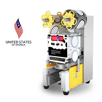Electric Automatic Cup Sealing Machine Electric Sealer Tool for Milk Tea Coffee