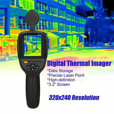 Hti HT-18/HT-19 0.3MP Digital Display Infrared Thermal Imager -20℃~300℃