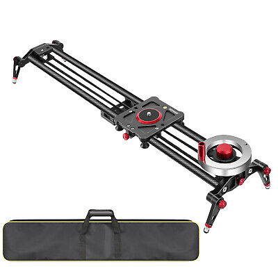 Neewer Camera Slider Video Track Dolly Rail Stabilizer with Bag for Filming