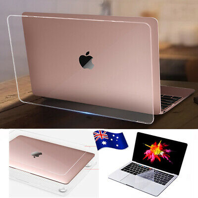 """Transparent Crystal Clear Hard Protector Case Shell for MacBook air pro 13""""A1932"""