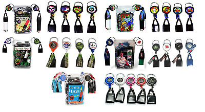 Lighter Leash - 5 Retractable CLIPS - Grunge Tattoo 420 Dale Earnhardt YOU PICK