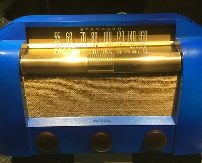 RCA Victor Model 66X1 Antique AM Tube Radio Repaired 1946