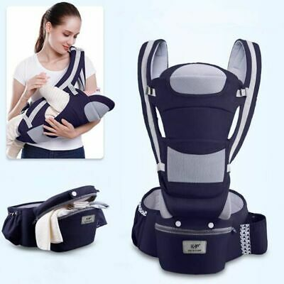 New 0-48M Ergonomic Baby Carrier Infant Hipseat Carrier Front Facing Kangaroo