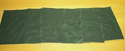 leather craft pieces scrap offcuts Leaf Green real leather Larp art and crafts