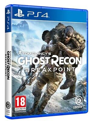 Tom Clancy's Ghost Recon Breakpoint Ps4 Italiano Gioco Eu Play Station 4 Nuovo