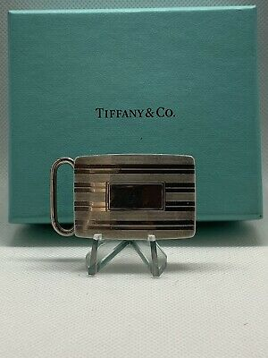 Vintage Tiffany & Co. Sterling Silver Belt Buckle - Priced To Sell!!