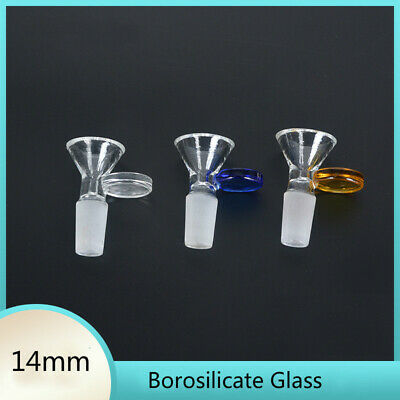 New come 14mm Borosilicate Glass Joint Male Glass Bowl for glass bong water pipe