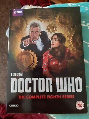 Doctor Who The Complete Eighth Series 8  8th season 8 used