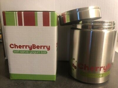 16oz Stainless Steel Frozen Yogurt//Berries//Nuts//Salad To-Go Container Set of 2