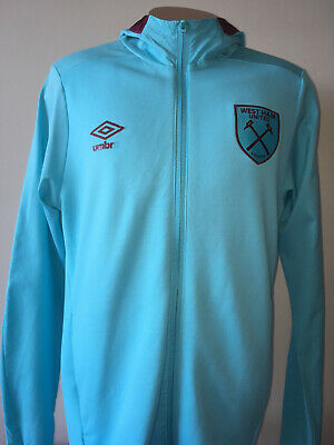 West Ham United Umbro Hooded Jacket Size Small