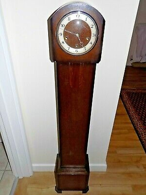 Vintage Dark Wood Granddaughter Clock