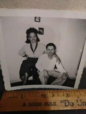 Segregation African American Female with White husband from Houston Texas