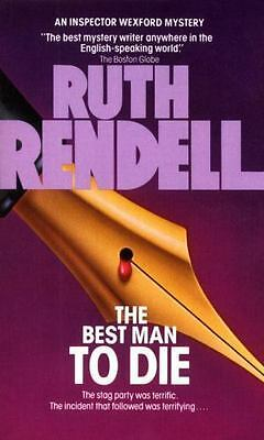 Best Man to Die (Chief Inspector Wexford Mysteries), Ruth Rendell, Good Conditio