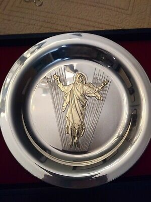 The Resurrection by Evangelos Frudakis 1973 1 St Easter Plate by Franklin Mint