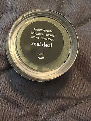 Bare Escentuals BareMinerals REAL DEAL Eye Wet Dry Pigment Shadow Liner XS