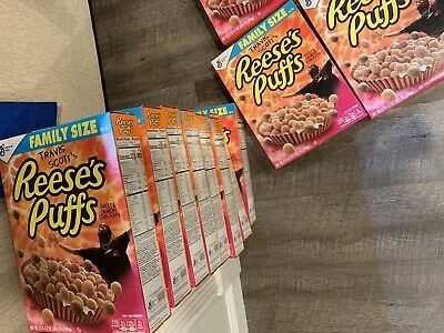 Travis Scott x Reese's Puffs Cereal SOLD OUT - Look Mom I Can Fly - RARE LIMITED