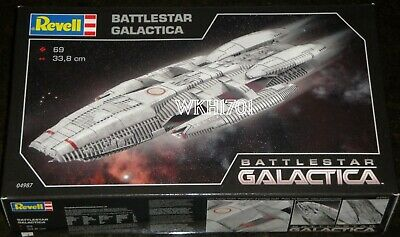 Battlestar GALACTICA Reimagined Model Kit MISB by Revell 1:4105 Expanded Decals