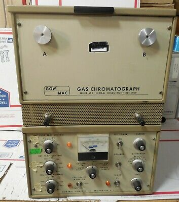 GOW – MAC Thermal Conductivity Gas Chromatograph Model 550 / 69-550 Gow-Mac