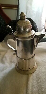 Vintage Silverplated Wine Claret Pitcher Made In Italy For Carol Stupell-Ltd