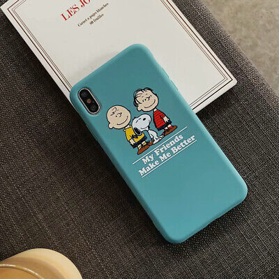 Cute Snoopy TPU Cartoon Phone Case Cover For iPhone 11 Pro X XS Max XR 6 7 8