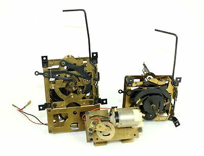 CUCKOO CLOCK MOVEMENTS 25-72 and 25 w/MOTOR PARTS - SCHMECKENBECHER - ZZ448