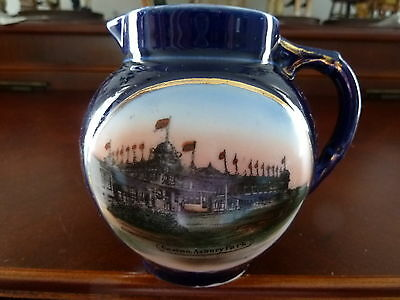 Rare Vintage Cobalt Blue Casino Asbury Park Porcelain Creamer Made in Germany