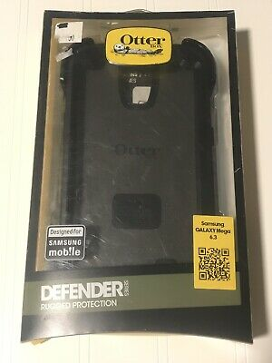 New Genuine OtterBox Defender Series Case & Holster Samsung Galaxy Mega 6.3 READ