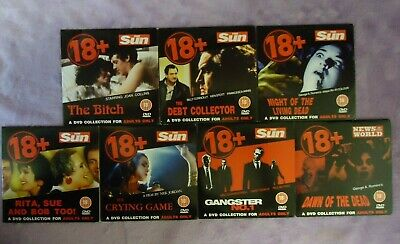 18+ Adults Only 7 X DVD Movie Collection News Of The World The Sun