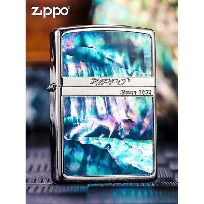 Inlay Shell Classic Zippo Lighter - AU Stock