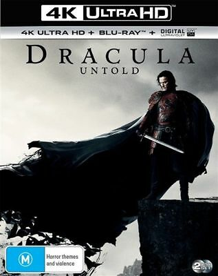 Dracula Untold 4K Ultra HD : NEW UHD Blu-Ray