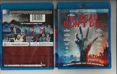 The Dead Don't Die Blu Ray Disc + Digital Code In Brand New Condition