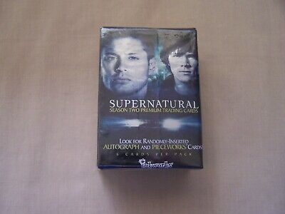 Trading cards Complete set 'SUPERNATURAL' Season 2
