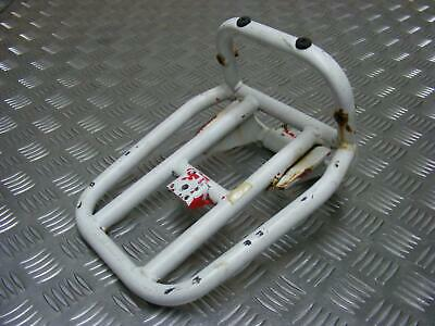 Vespa S125 S 125 IE 2010 07-15 Rear Luggage Carrier Rack White 598