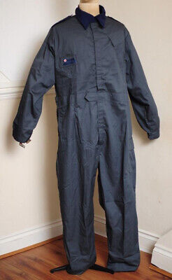 Royal Air Force Raf Grey Blue Polycotton Coveralls,Boiler Suit,Overalls-Mechanic