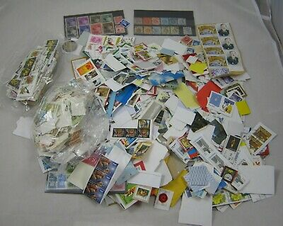 500g World Wide Used Stamps Foreign Kiloware Mix ON/OFF Paper,