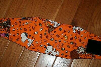Male dog diaper-belly band-wrap-britches-quilted- Fall w Snoopy by angelpuppi