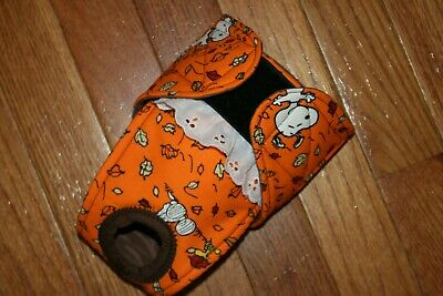 Female dog diaper-panties-QUILTED-Washable- Fall w Snoopy by angelpuppi