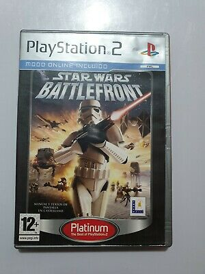 Star Wars Battlefront ps2 pal España y completo PLATINUM