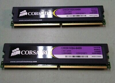 CORSAIR xtreme performance XMS2-6400 2GB DDR2 800MHz CM2X2048-6400C5 1.90V