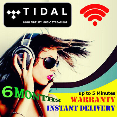 TIDAL Hi-Fi |+| 6 MONTHS WARRANTY FAMILY PLAN INSTANT 5 min DELIVERY