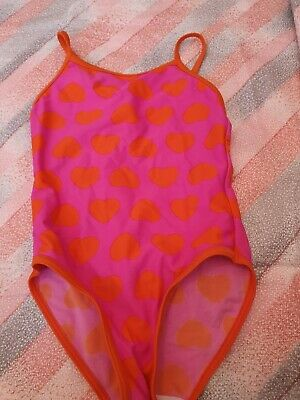 Lovely Girls F&F Swimming Costume Age 3-4 Years