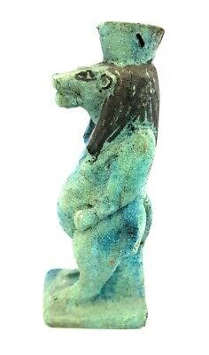 Ancient Egyptian Goddess Of Childbirth Taweret River Nile Hippo Antique Statue