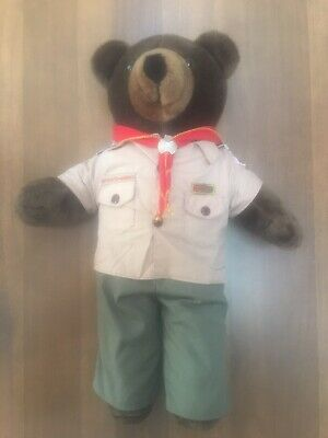 RARE! Boy Scout Teddy Bear - Greater New York Council BSA Boy Scouts of America
