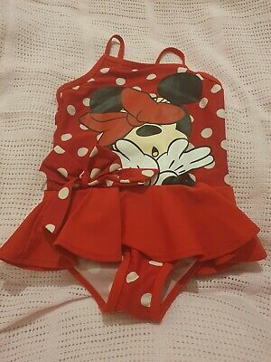Lovely Girls trespass swimming costume Age 2-3 Years
