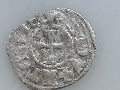 Greece Athens Byzantine period 1300 silver coin crusader