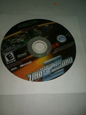 Need for Speed: Underground 2 (Microsoft Xbox, 2004) Disc ONLY